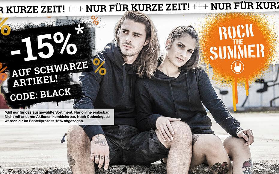 -15% AUF SCHWARZE ARTIKEL!