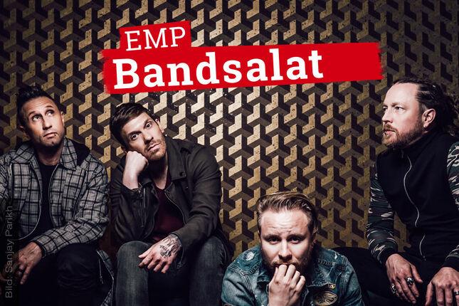 "EMP Bandsalat mit SHINEDOWN: Eric Bass ist ""Metal as fuck"" – selbst im weißen V-Neck-Shirt"