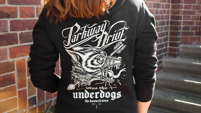 Der Viva The Underdogs Kapuzenpullover von Parkway Drive