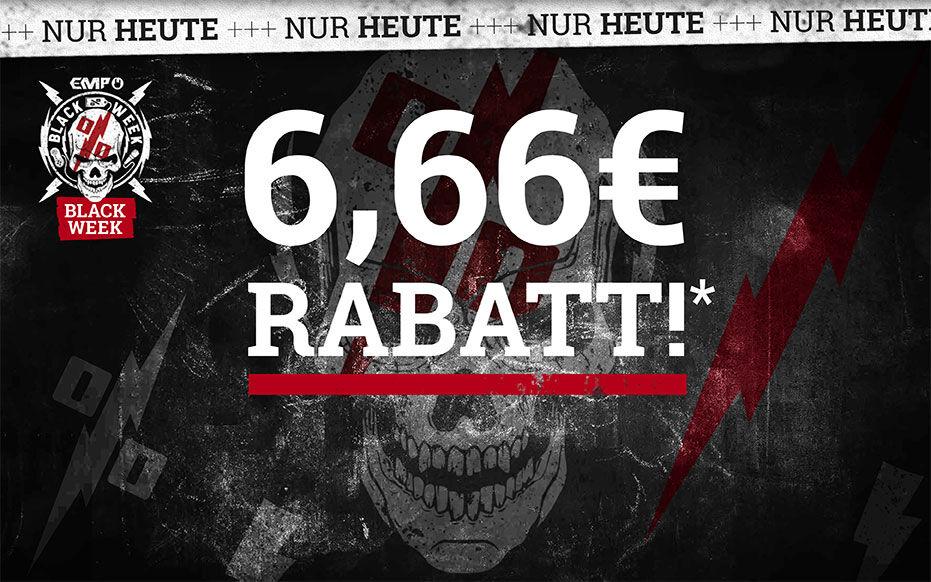 6,66 € RABATT!