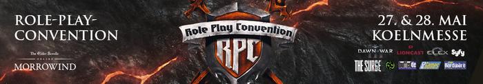 Kommt uns auf der Role Play Covention in Köln besuchen