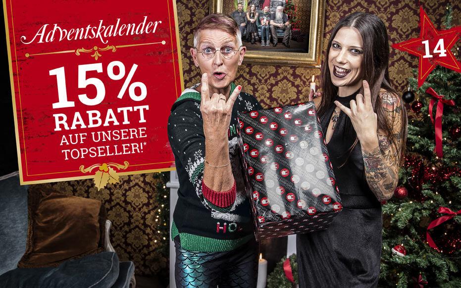 15% Rabatt auf unsere Topseller!*