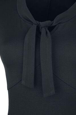 Schwarzes Schluppen-Kleid Rock Rebel