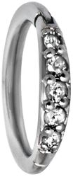 Pave Setting Crystals Top