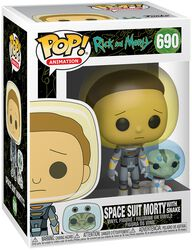 Season 4 - Space Suit Morty With Snake Vinyl Figur 690