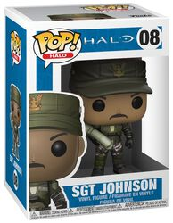 Sgt. Johnson (Cigar) (Chase Edition möglich) Vinyl Figure 08