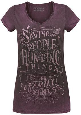 Saving People Hunting Things