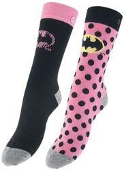 Pink Batman Logo