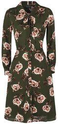 Nora Floral 40s Style Tea Dress