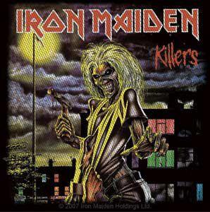 Iron Maiden England 88 Toppe schiena