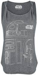 Episode 8 - Die letzten Jedi - R2D2 Line Sketch