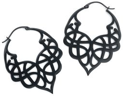 Celtic Tribal Hoops
