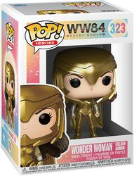 1984 - Wonder Woman Golden Armor Vinyl Figur 323