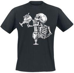 Durstiges Skelett