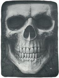 Solemn Skull Fleecedecke