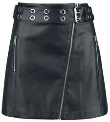 PU Asymetric Skirt