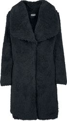 Ladies Soft Sherpa Coat
