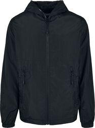 Full Zip Nylon Crepe Jacket