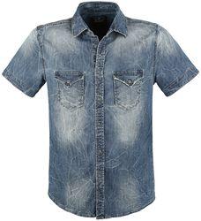 Riley Short Sleeve Denim Shirt