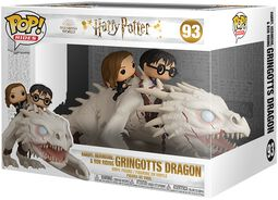 Harry, Hermine & Ron riding Gringotts Dragon (Pop Rides) Vinyl Figur 93