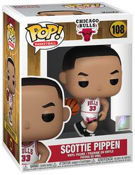 Chicago Bulls - Scottie Pippen (Home Jersey) Vinyl Figur 108