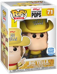 Kellogg's Sugar Corn Pops - Big Yella (Funko Shop Europe) Vinyl Figure 71