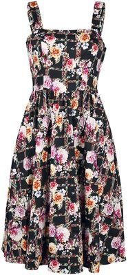 Colorful Garden Swing Dress