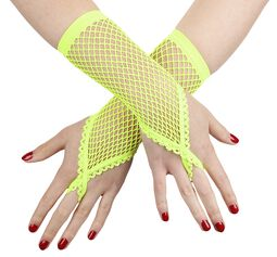 Netzhandschuhe mit Fingerschlaufe