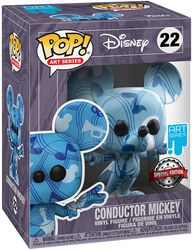 Conductor Mickey (Artist Series) Vinyl Figur with Case 22