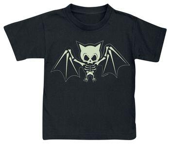 Fledermaus Skelett