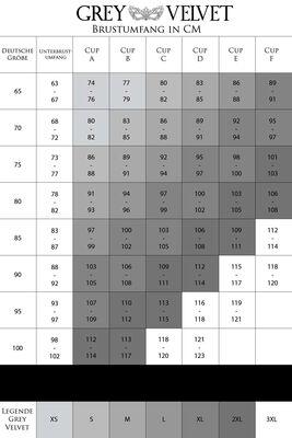 3-teiliges Spitzen Harness-Bra Set