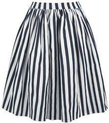 Jasmine Striped Swing Skirt