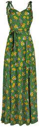 Elsie Pineapple Slice Maxi Dress