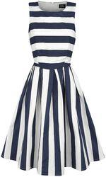 Dark Blue Stripe Dress