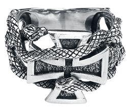 Eisernes Kreuz mit Schlangen