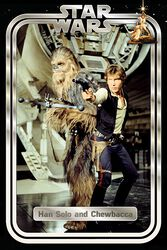 Classic - Han and Chewie Retro