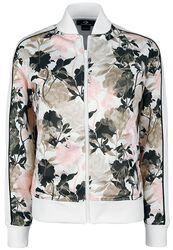 Linear Floral Track Jacket
