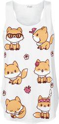 Cute Fox Vest