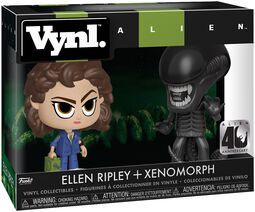 Ellen Ripley + Xenomorph (VYNL) Vinyl Figure