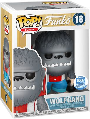 Fantastik Plastik Wolfgang (Funko Shop Europe) Vinyl Figur 18