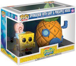 Spongebob with Gary and Pineapple House (Pop! Town) Vinyl Figure 02