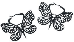 Bohemian Butterfly Hoops