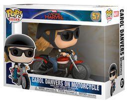 Carol Danvers on Motorcycle Pop Rides Vinyl Figure 57