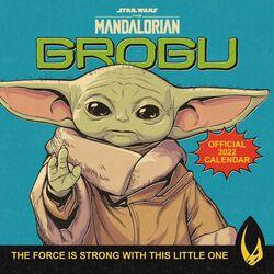 The Mandalorian - Grogu Wandkalender 2022