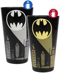 Bat-Signal - Glas mit Thermoeffekt