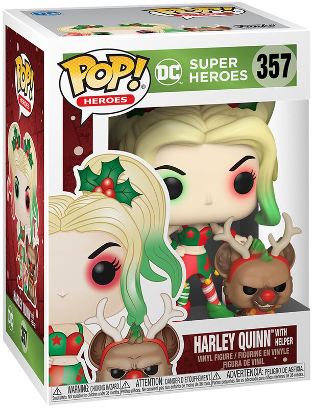 Harley Quinn With Helper (Holiday) Vinyl Figur 357