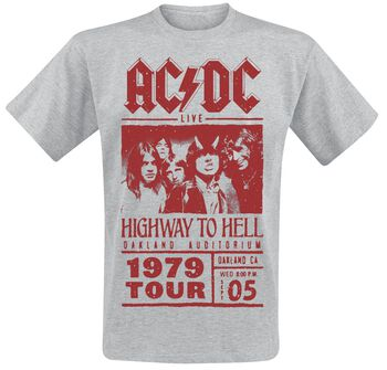 Highway To Hell - Red Photo - 1979 Tour