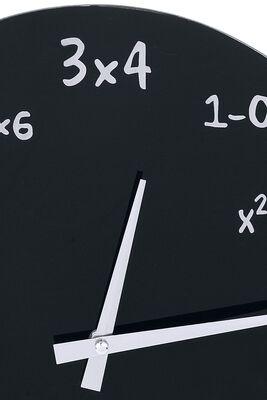 Mathematik Glas-Wanduhr
