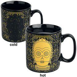 C-3PO - Tasse mit Thermoeffekt