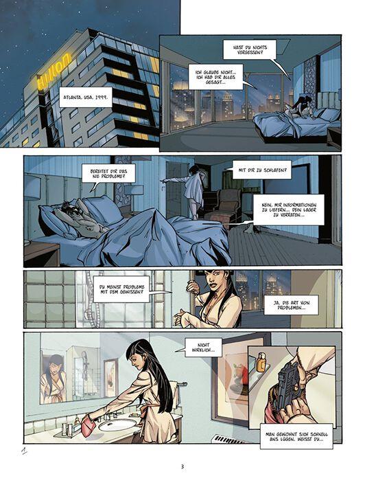 bd 6 leila assassin 39 s creed graphic novel emp. Black Bedroom Furniture Sets. Home Design Ideas
